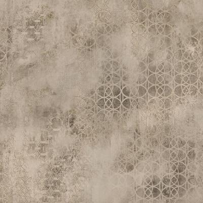 Geometrics Brass Paper Strippable Roll (Covers 57.8 sq. ft.)