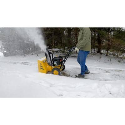 301cc 27 in. Two-Stage Gas Snow Blower with Electric Start