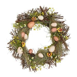 15 in. Nested Egg Wreath