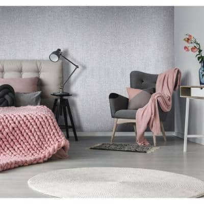 Water Silk Plain Pink Wallpaper Sample
