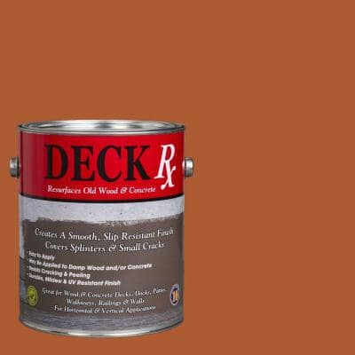 Deck Rx 1 gal. Cedar Wood and Concrete Exterior Resurfacer