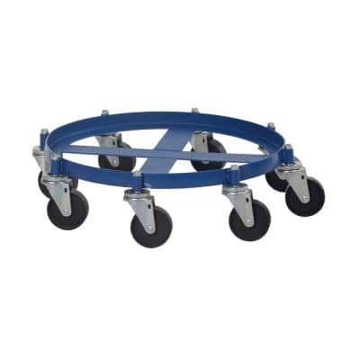 2000 lbs. Capacity 55 Gal. Drum Dolly Octagon