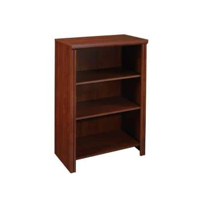 Impressions 25 in. W Dark Cherry Base Organizer for Wood Closet System