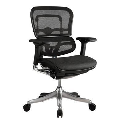 Zabrina Black Mesh Elite High Back Chair
