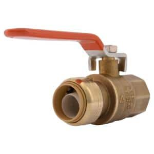 3/4 in. Push-to-Connect x FIP Brass Ball Valve