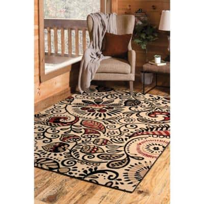 Beige 5 X 7 Area Rugs Rugs The Home Depot