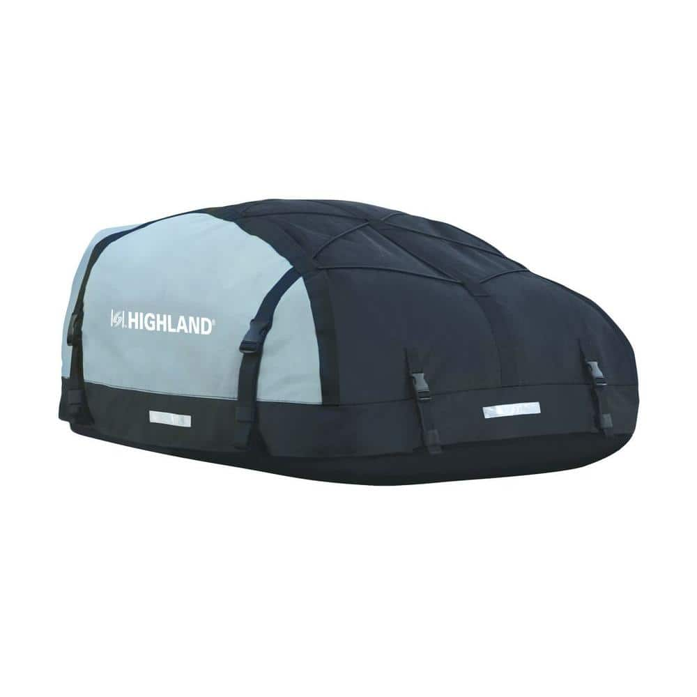 Highland 10 To 15 Cu Ft Expandable Waterproof Karpak Rooftop Cargo Bag 1039800 The Home Depot
