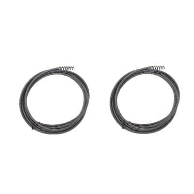 25 ft. x 1/4 in. Replacement Cable with EL Basin Plug Head (2-Pack)