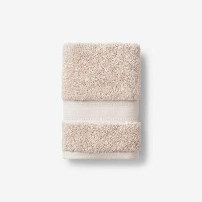Cotton Cashmere Sand Solid Hand Towel