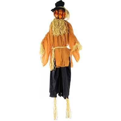 6 ft. Animatronic Scarecrow Halloween Prop