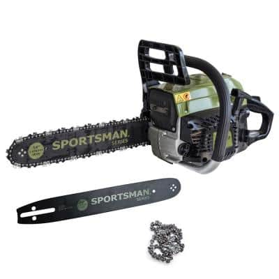 2-in-1 20 in. and 14 in. 52cc Gas Chainsaw Combo