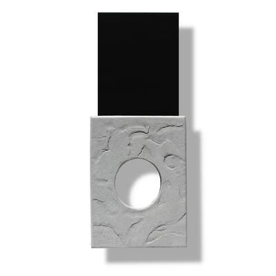 9.25 in x 11.75 in. in. Stone Light Box in Slate