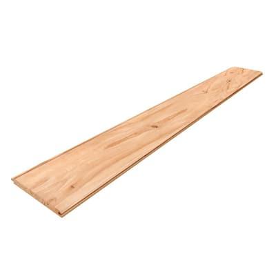 1 in. x 8 in. x 8 ft. Rustic Beech WP-4 Reversible Board (6-pack)