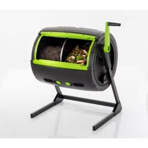 65 Gal. 2-Stage Composter Tumbler