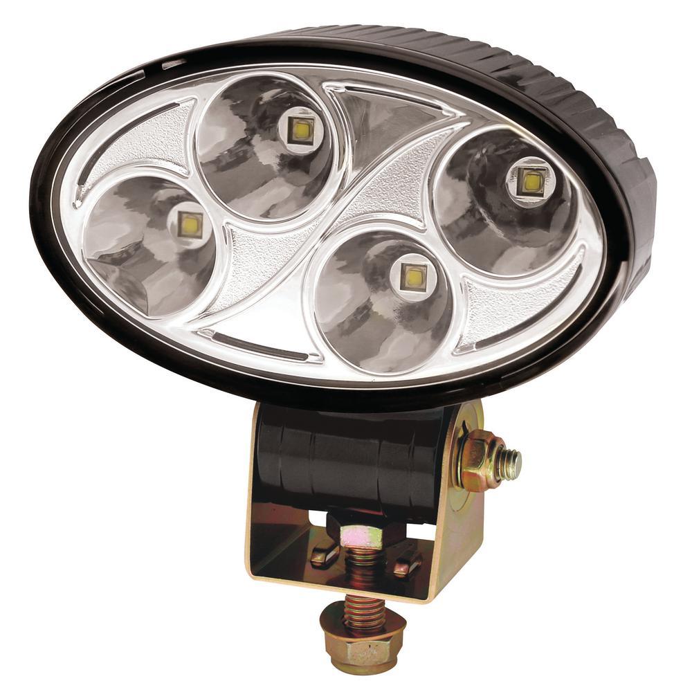 3 in. x 5 in. Oval 4 LED Spot Worklight