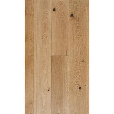 Take Home Sample - European White Oak Sunlight Smooth Engineered Hardwood Flooring - 5 in. x 7 in.