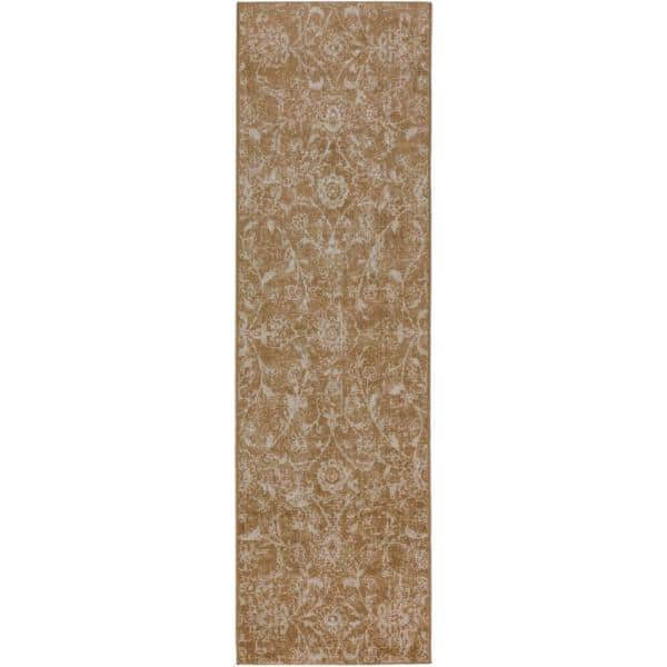 Addison Rugs Fergus 7 Camel 2 Ft 3 In X 7 Ft 5 In Area Rug Hdfg7ca2x7 The Home Depot