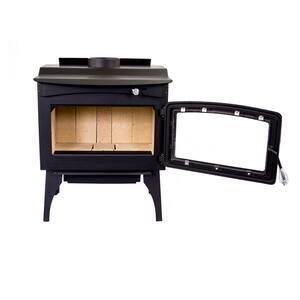 Medium 1,800 sq. ft. 2020 EPA Certified Wood Burning Stove with Legs