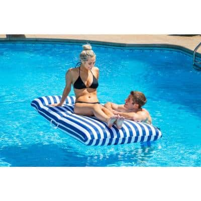 Navy Blue Pool Mattress Float