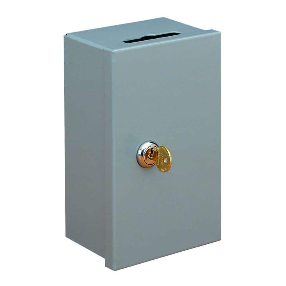 Steelmaster Drop In Key Control Box Safe 201980101 The Home Depot