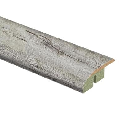 Silver Cliff Oak/Lake Cottage Oak 1/2 in. Thick x 1-3/4 in. Wide x 72 in. Length Laminate Multi-Purpose Reducer Molding