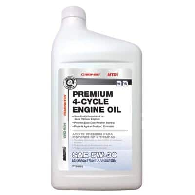 28 oz. SAE 5W-30 Premium 4-Cycle Engine Oil Specifically Formulated for Snow Blower Engines
