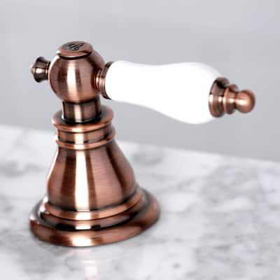 American Patriot 8 in. Widespread 2-Handle Bathroom Faucet in Antique Copper