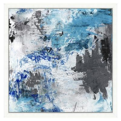 """""""Eclectic abstract painting II"""" Framed Archival Paper Wall Art (26 in. x 26 in. Full Size)"""
