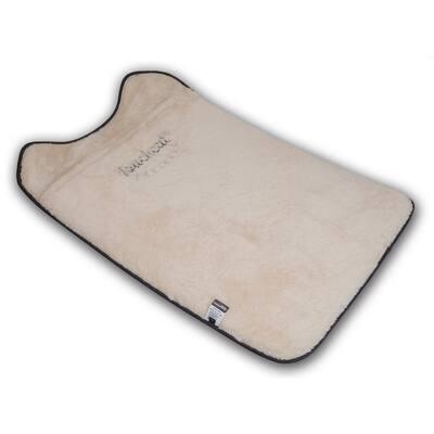 Large Red Lamaste Travel Reversible Designer Embroidered Pet Dog Cat Mat Bed