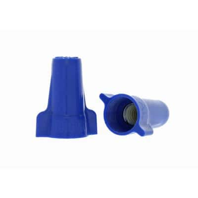 454 Wing-Nut Wire Connector, Blue (100/Bag)