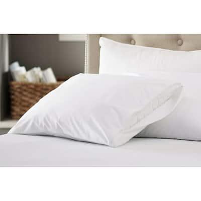Polyester Waterproof, Noiseless, Bedbug Proof Pillow Protector