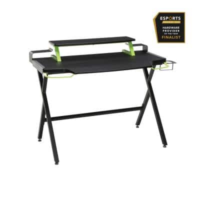 """1000 Gaming Computer Desk, 42"""", in Green (RSP-1000-GRN)"""