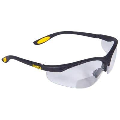 Safety Glasses Reinforcer RX 3.0 Diopter with Clear Lens