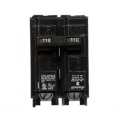 110 Amp 2-Pole QP 10 kA Circuit Breaker