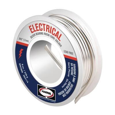 4 oz. Leaded Rosin Core Solder Wire