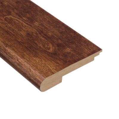 Kinsley Hickory 3/8 in. Thick x 3-1/2 in. Wide x 78 in. Length Stair Nose Molding