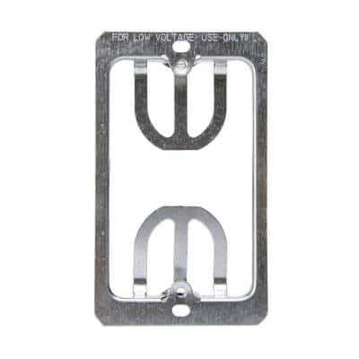 1-Gang Low Voltage Wallplate Mounting Brackets (2-pack)