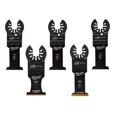 Multi-Tool Oscillating Blade Pack (5-Piece)