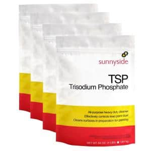 16 lbs. TSP Heavy Duty Cleaner in 4 lbs. Resealable Pouches