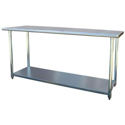 Kitchen Prep Tables Carts Utility Tables The Home Depot