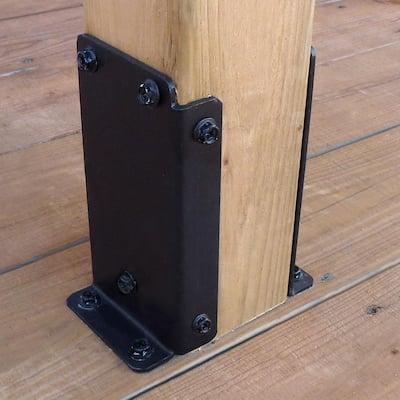 Universal Pergola Post Base Bracket Kit