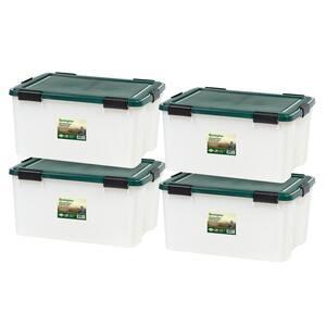 Remington 62 Qt. Weathertight Storage Box (4-Pack)