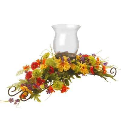 30 in. Cosmos Mixed Candle Holder