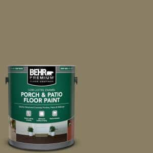 1 gal. #N330-6 Lagoon Moss Low-Lustre Enamel Interior/Exterior Porch and Patio Floor Paint