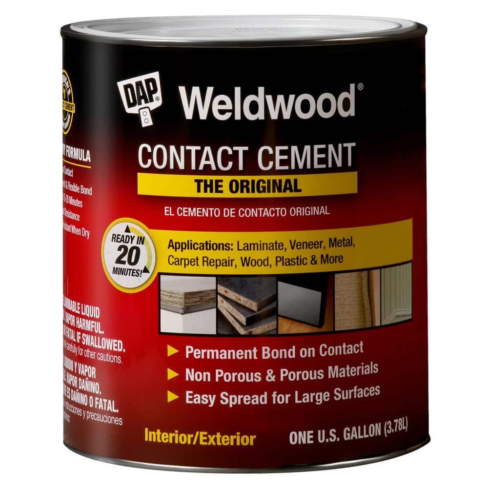 Dap Weldwood 128 Fl Oz Original, Contact Cement Laminate Flooring