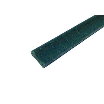 4 ft. Green Rubber Curb Landscape Edging (4-Pack)