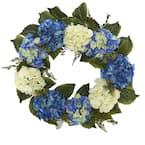 24 in. Hydrangea Wreath