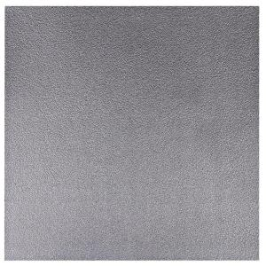 Verlans 2 ft. x 2 ft. Lay-in or Glue-up Ceiling Tile in Antique Nickel (40 sq. ft. / case)