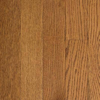 Oak Honey Wheat 3/4 in. Thick x 2-1/4 in. Wide x Random Length Solid Hardwood Flooring (18 sq. ft. / case)