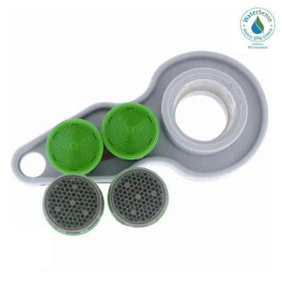 1.5 GPM Water-Saving Household Aerator Replacement Kit